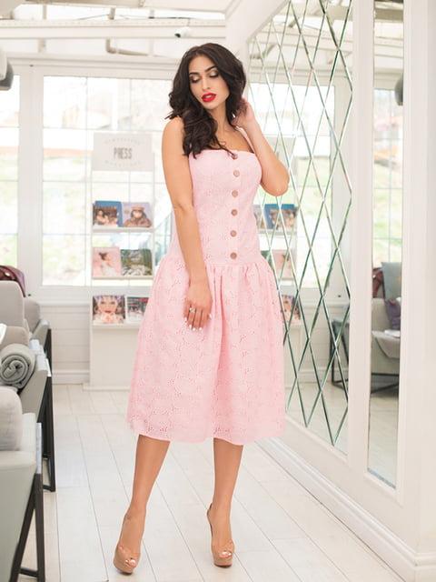 Сукня кольору пудри ELFBERG 5081915