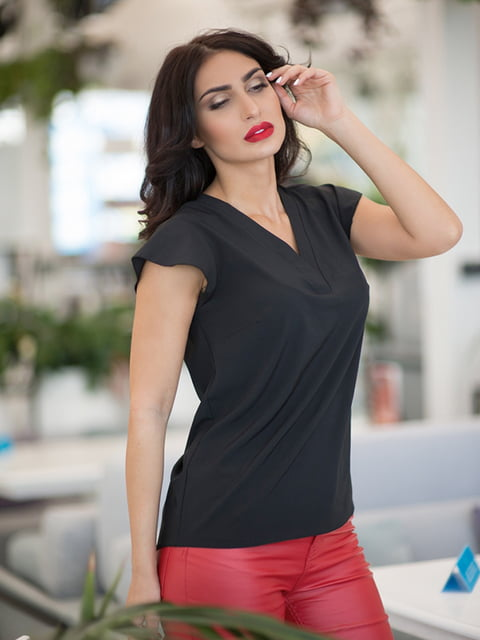 Блуза чорна ELFBERG 5081935
