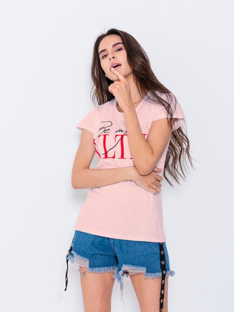 Футболка розовая Magnet 5066857