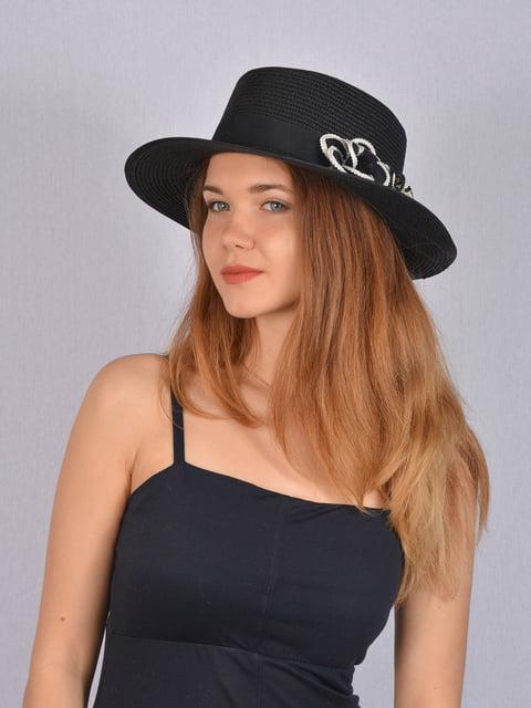 Шляпа черная Fashion Look 5085814