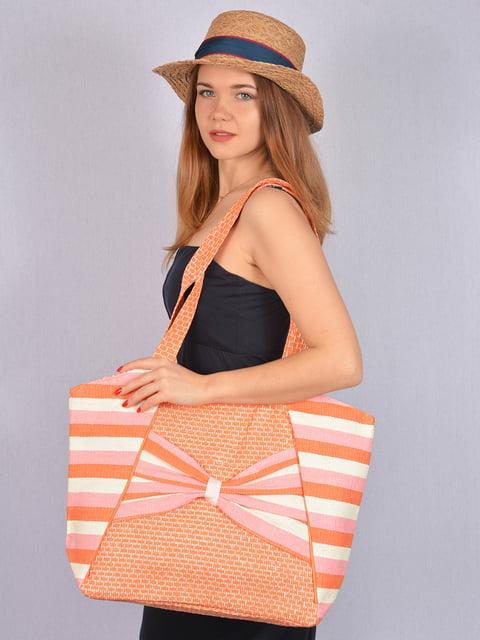 Сумка в смужку Fashion Look 5085854