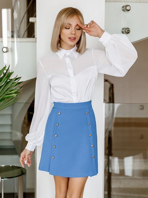 Блуза белая Gepur 5086504