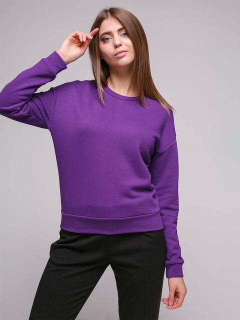 Світшот фіолетовий Loca 5087241