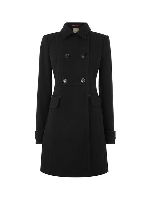 Пальто чорне Oasis 5074028