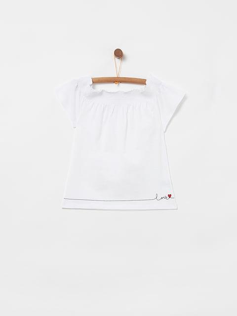 Блуза біла Oviesse 5059055