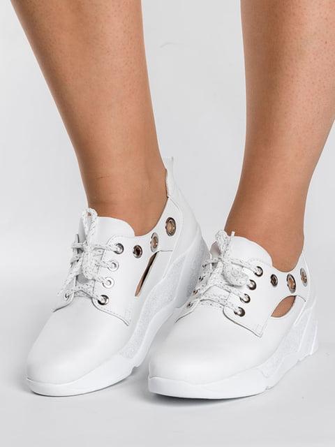Кроссовки белые АМ 5089914