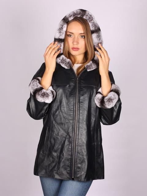 Куртка чорна Antonio Rossini 5090694