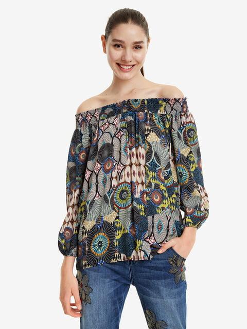 Блуза в принт Desigual 5067244