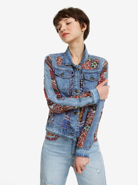 Куртка синя Desigual 5067262