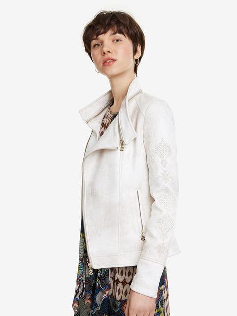 Куртка біла Desigual 5092343