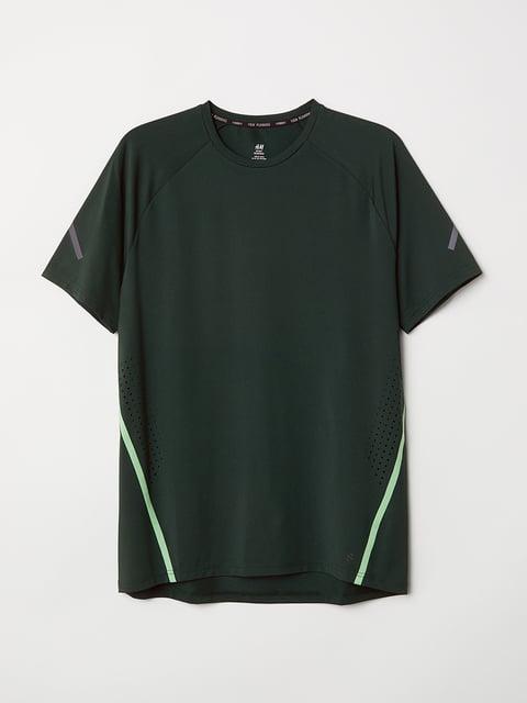 Футболка зеленая H&M 5072588