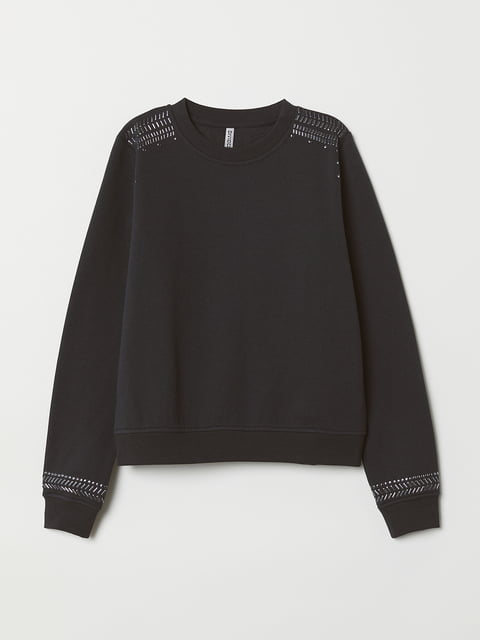 Світшот темно-сірий H&M 5072775