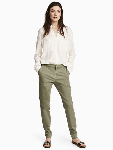Штани зелені H&M 5072900