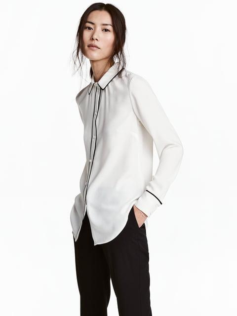 Рубашка белая H&M 5072933