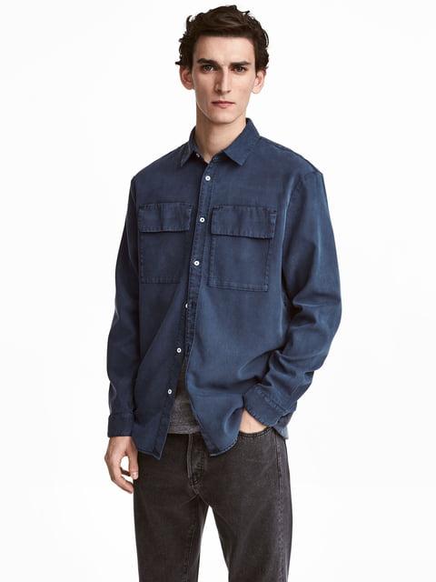 Сорочка синя H&M 5073011