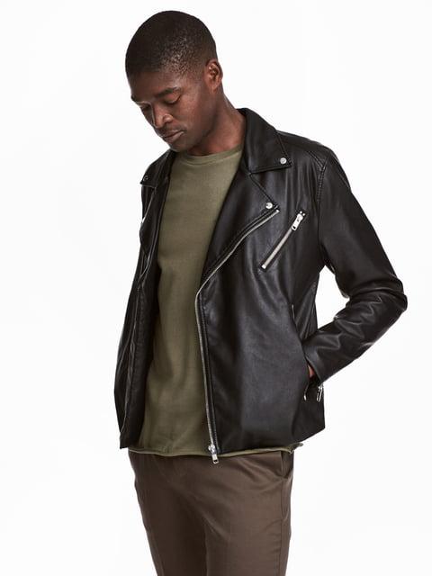 Куртка чорна H&M 5073021