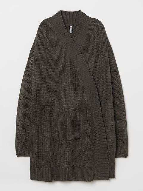 Кардиган коричневий H&M 5073035