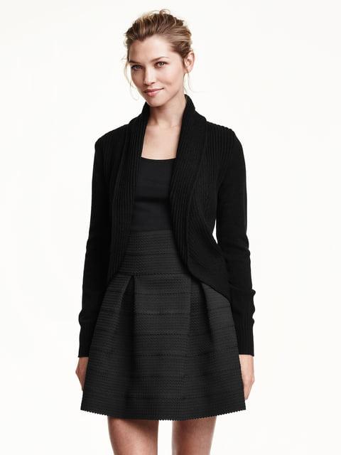 Кардиган чорний H&M 5073057