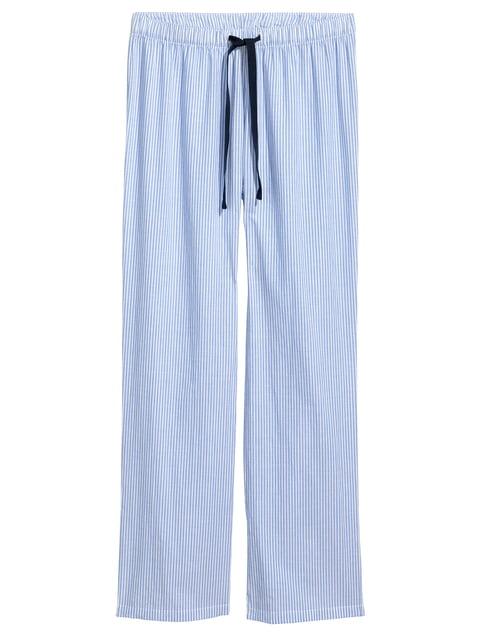 Брюки в полоску пижамные H&M 5093621
