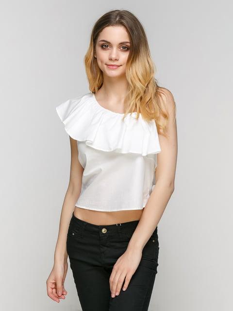 Блуза біла Bershka 4562499