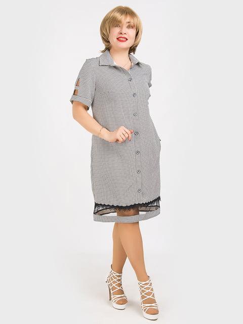 Платье серое LibeAmore 5095480
