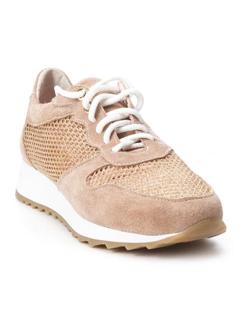 Кросівки нюдового кольору NUBE 5089837