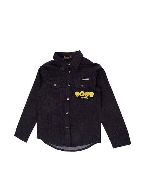 Сорочка чорна джинсова Pinetti 4971355