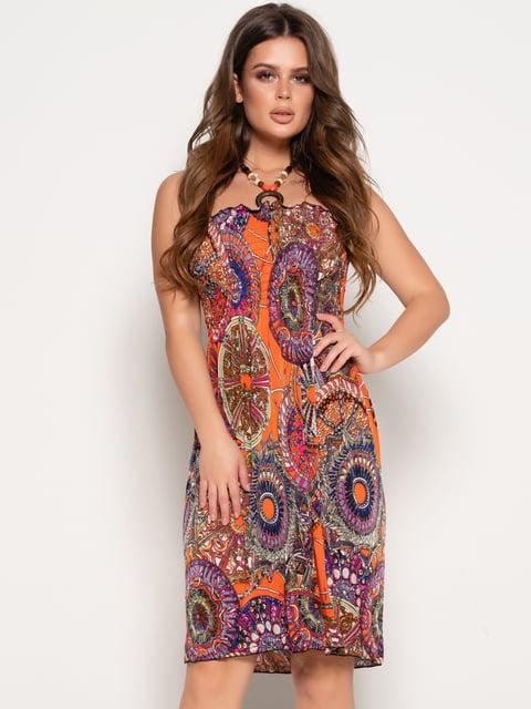 Платье в принт Magnet 5087628