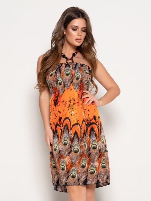 Платье в принт Magnet 5087630