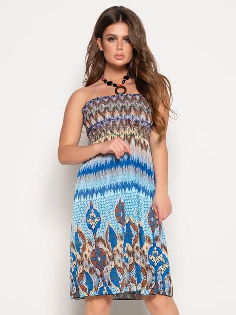 Сукня в принт Magnet 5087638