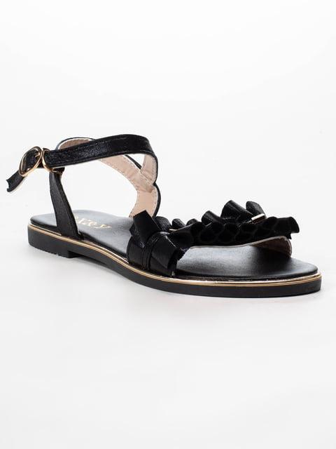 Сандалии черные X&Y 5091834
