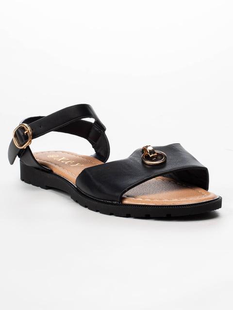 Сандалии черные X&Y 5091841