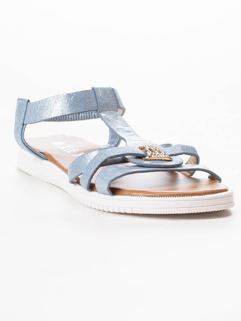 Сандалии голубые X&Y 5091836