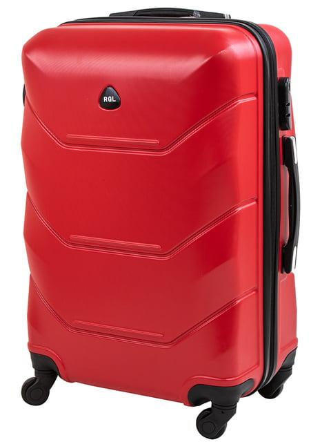 Валіза червона ROGAL 5071330