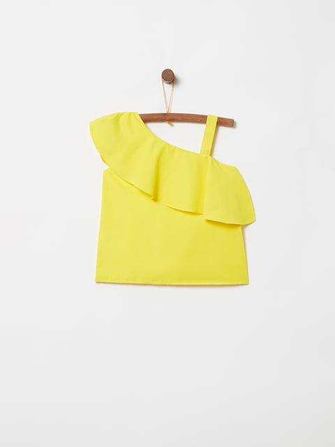 Блуза желтая Oviesse 5075084