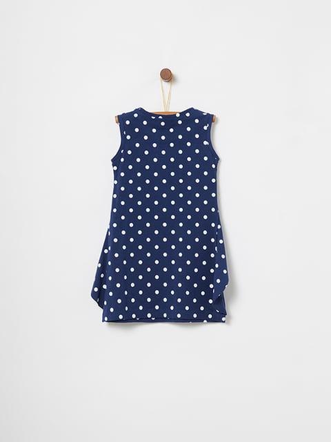 Платье синее в горошек Oviesse 5075145
