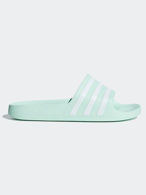 Шльопанці м'ятного кольору Adidas 5066311