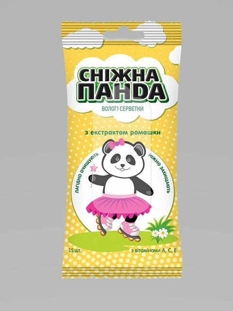Влажные салфетки (15 шт.) Снежная панда 5099084