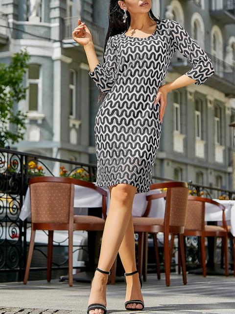 Платье в принт Seventeen 5100644