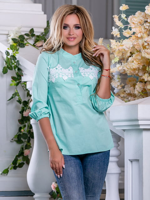 Рубашка мятного цвета Seventeen 5100666