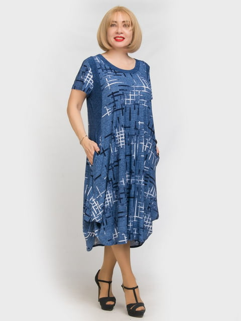 Платье в принт LibeAmore 5101278