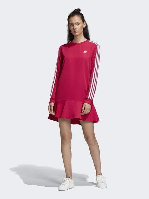 Платье бордовое Adidas Originals 4932426