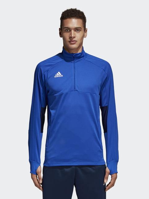 Джемпер синий Adidas 4879309