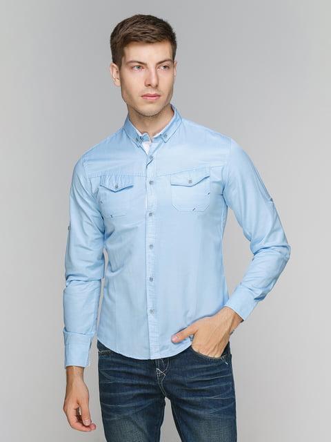 Рубашка голубая Elzara 5086389