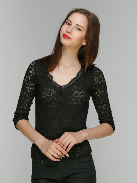 Блуза чорна Bershka 4562057