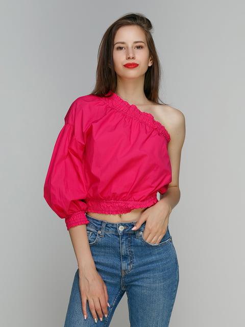 Блуза малинова Bershka 4562123