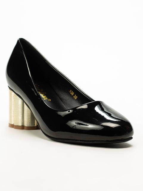 Туфли черные Fuguis 5101347