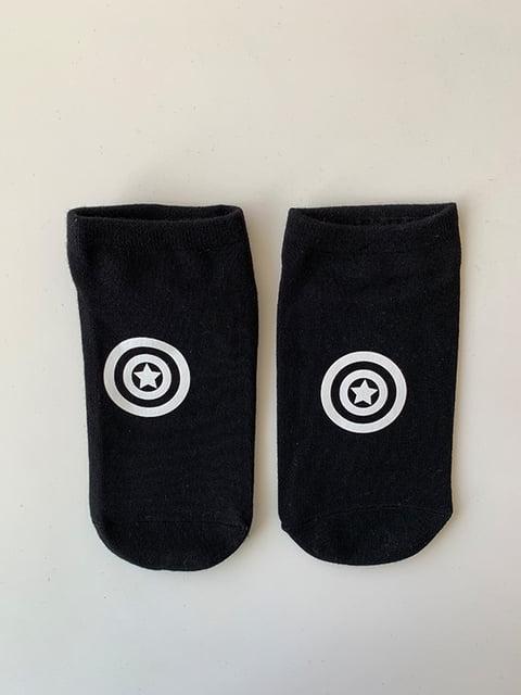 Шкарпетки чорні з рисунком Nettle 5106998