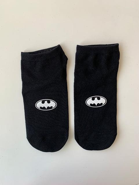 Шкарпетки чорні з рисунком Nettle 5107000