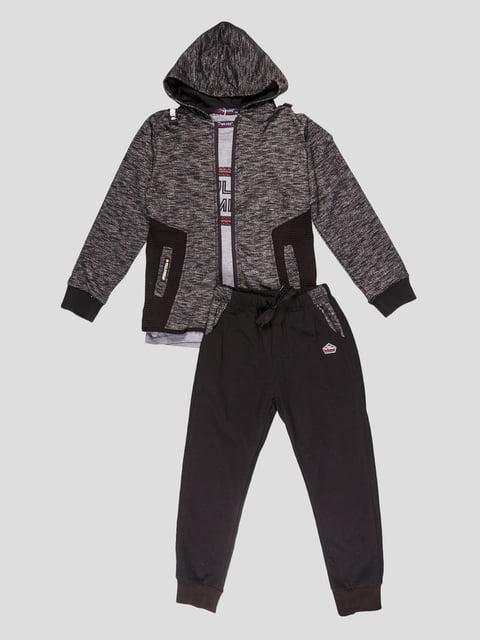 Комплект: толстовка, штани та лонгслів Grace 5096561